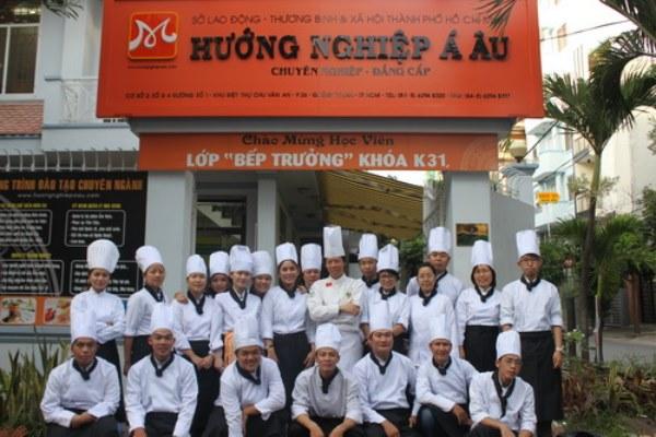 trường đào tạo nghề nấu ăn