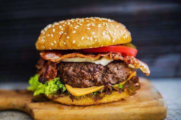 Hamburger hàn quốc thành phẩm