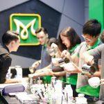 thực hành kỹ năng Latte Art