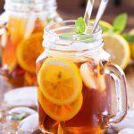 trà chanh giải nhiệt