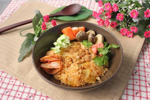 Cơm Chiên Kim Chi Cay