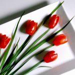 Hoa cà chua trang trí
