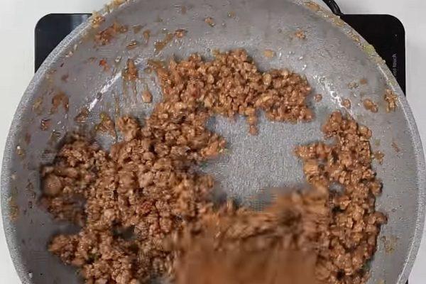 Mắm ruốt xào thịt