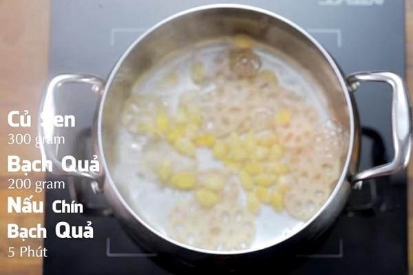 Nấu chín nguyên liệu