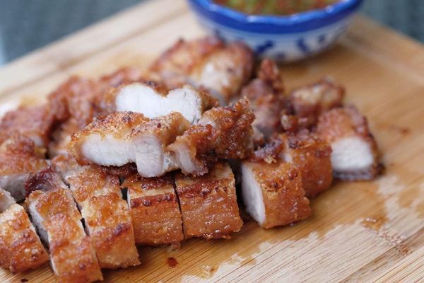 Thịt Heo Áp Chảo