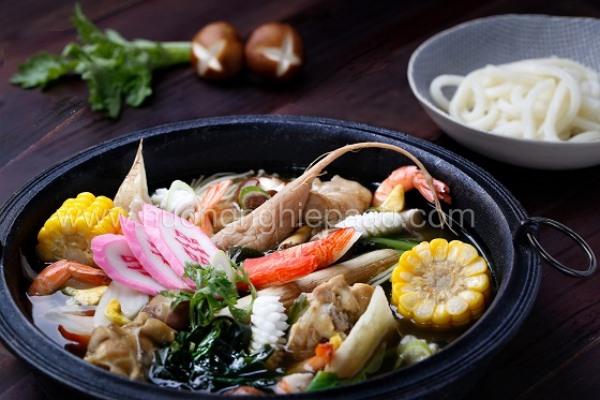 Cách nấu mì Udon