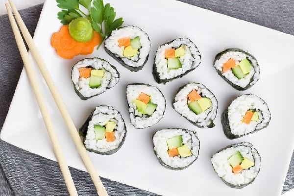 Món sushi chay