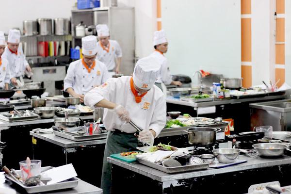 Mức lương nghề bếp