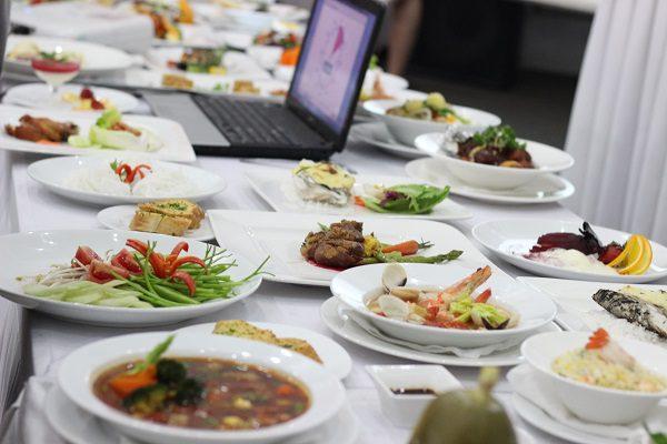 Những thành phẩm của học viên trung tâm dạy nấu ăn á âu