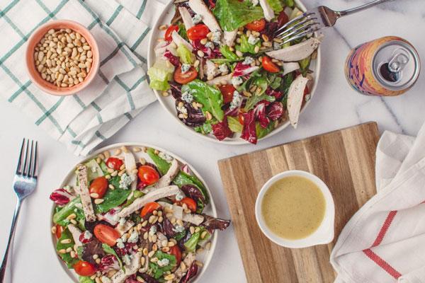 Salad hoa quả trộn