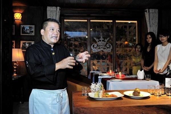 Vua đầu bếp Dương Huy Khải