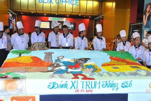 bánh xì trum khổng lồ tại Việt Nam