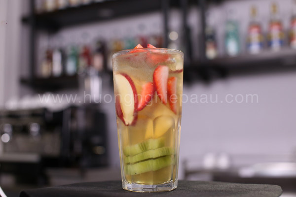 Trà trái cây thảo mộc
