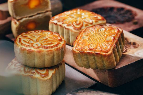 bánh Trung thu sầu riêng