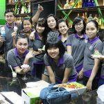 Lớp dạy làm kem HNAAU