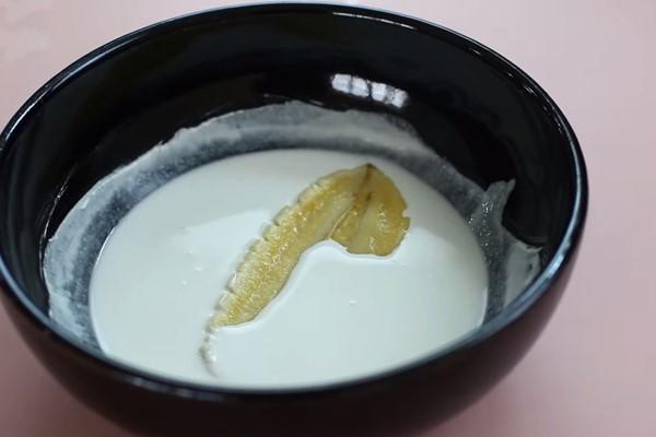 Nhúng chuối vào bột