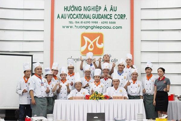 Trường đào tạo đầu bếp ở tphcm