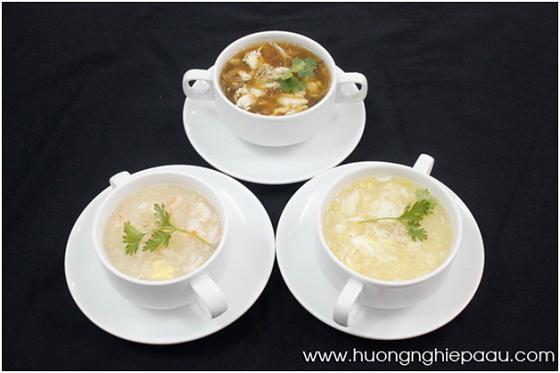 các món soup trong chuyên đề soup á