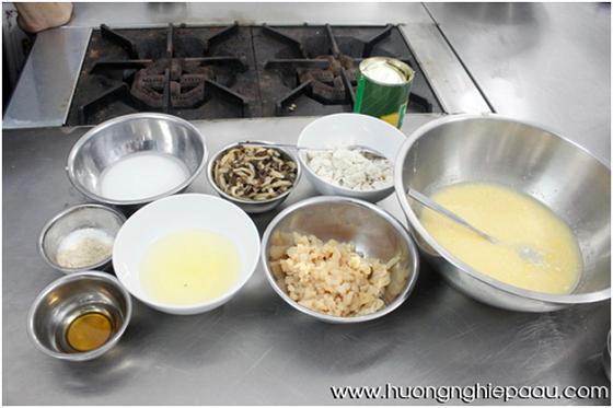 nguyên liệu soup sơn hào hải vị