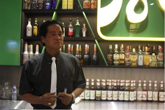 khoa hoc bartender - huong nghiep a au