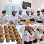 học làm bánh trung thu tại HNAAU