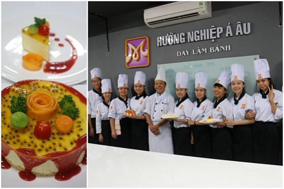 Thanh pham cuc thi bep banh huong nghiep a au