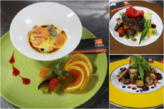huong nghiep a au da nang - set up menu Au