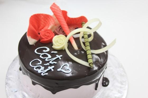 banh kem chocolate xinh xan cua Bep banh BB25