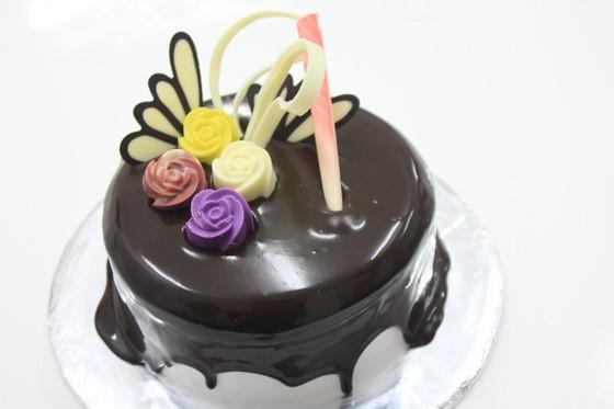 chiec banh kem chocolate xinh xan cua Bep banh BB25