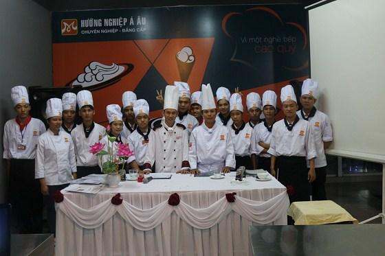 học viên khóa bếp trưởng k179