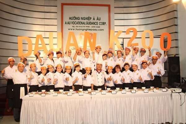Dấu ấn K200 trường dạy nấu ăn á âu