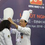 Hình ảnh trường dạy nấu ăn á âu