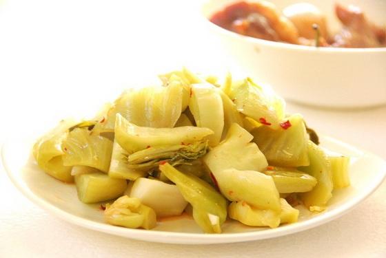 dưa cải muối chua món ăn ngày tết