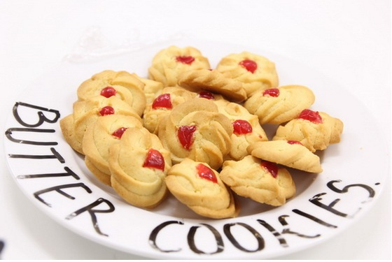 Những chiếc bánh butter cookies hấp dẫn