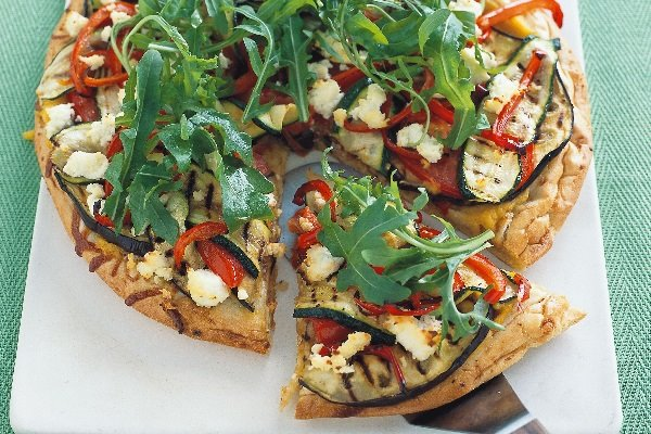 vegeterian pizza