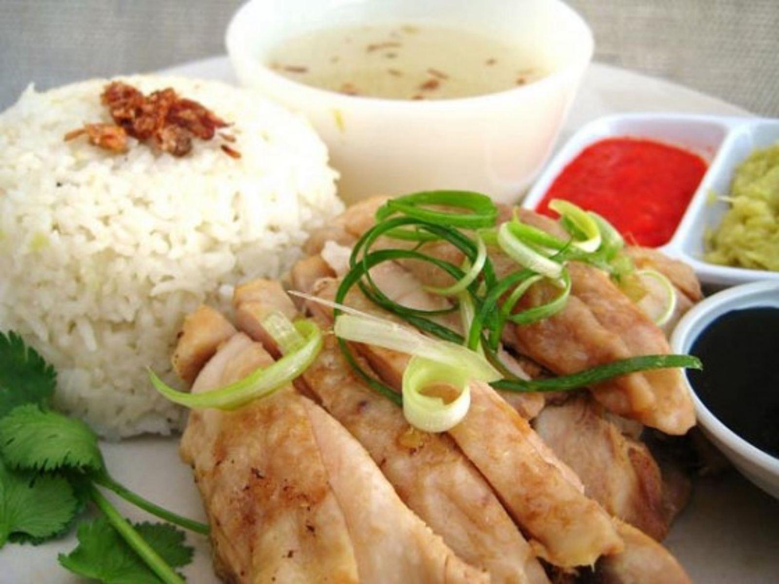 cơm gà hải nam thơm ngon