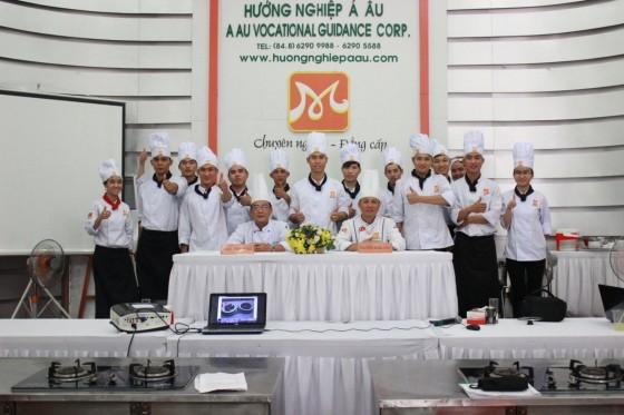 bếp trưởng điều hành k215 thi nâng cao