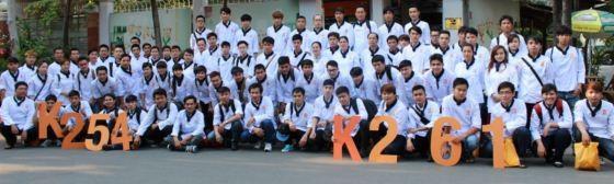 học viên k254 và k261