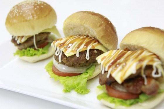 thành phẩm hamburger nhật lớp pc84