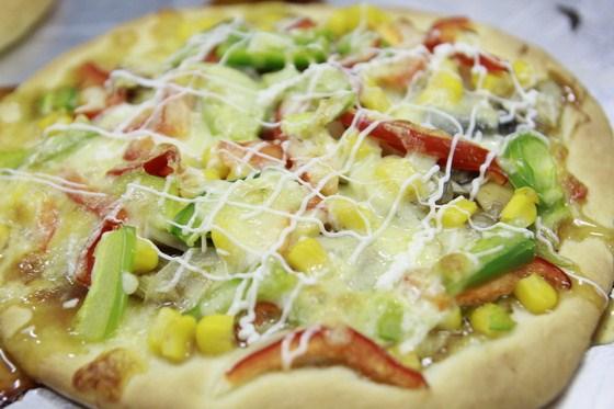 thành phẩm pizza nhật