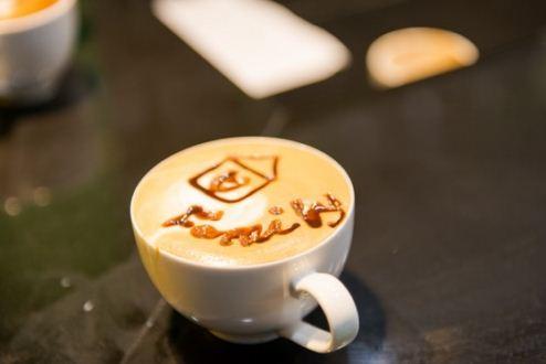thành phẩm latte art