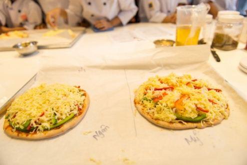 thành phẩm pizza