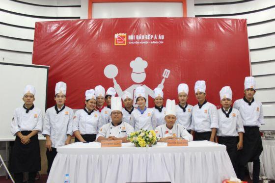 bếp trưởng k254 thi cơ bản