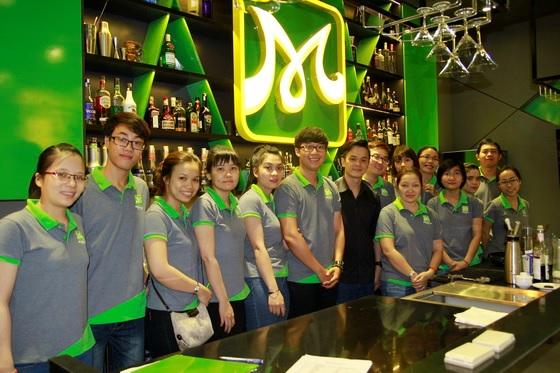 Địa điểm dạy pha chế hàng đầu hiện nay tại TP. HCM và Đà Nẵng là HNAAu