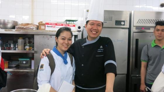 giao lưu bếp trưởng bếp bánh new world