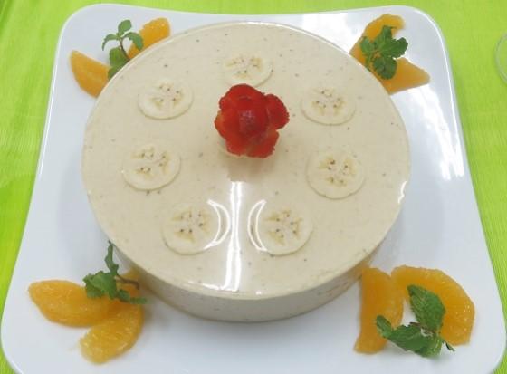 banana mouse cake