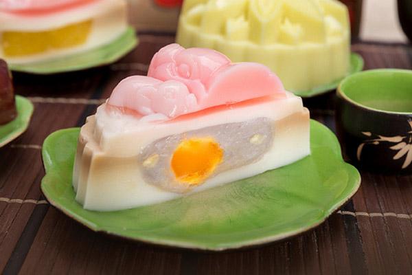 Bánh trung thu rau câu trứng muối