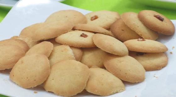 butter cookies sau buổi thi