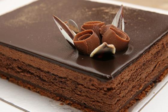 Hương vị tuyệt vời của Chocolate kết hợp với lớp bánh mềm khiến ai cũng ngây ngất