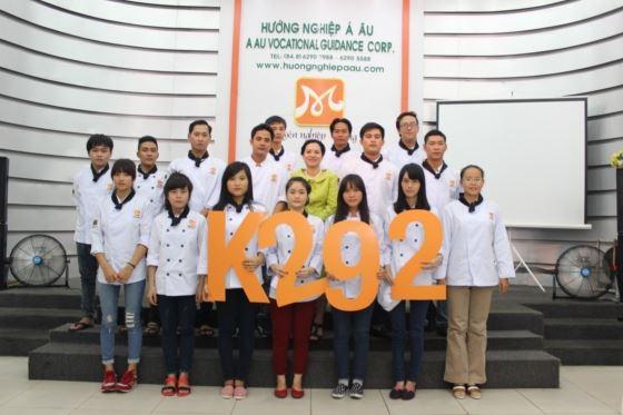 tân học viên khoá bếp trưởng k292